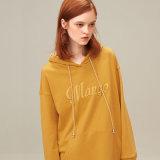 Дешевые цены вышивка женщин худи Custom удлиненной худи дизайн Вашего худи