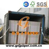 papier blanc de 62*87cm 115GSM C2s pour le marché sud-américain