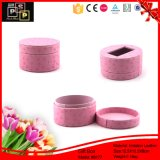 Dom De couro rosa Caixa de Embalagem Caixa de jóias (8177)