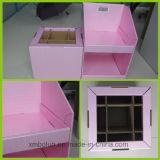 La aduana imprimió la pequeños joyería/cosméticos/visualizaciones del contador de la cartulina del papel