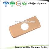 Handvat Van uitstekende kwaliteit van de Deur van het Aluminium van de fabriek het Geanodiseerde met ISO9001