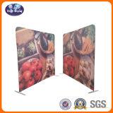 8 Tension d'aluminium Pop up Toile de fond en tissu support d'écran d'exposition de la bannière