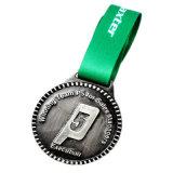 Médaillon fait sur commande /Medal (YB-ML-491) de l'en cuivre 3D de pièce de monnaie en métal d'usine