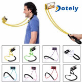 Perezoso colgando del cuello flexible flexible soporte para teléfono móvil de 360 grados de rotación Stand