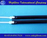 A fibra de carbono do tubo de aquecimento de halogéneo por infravermelhos de quartzo