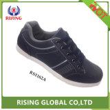 2018 Nouvelle PU Mens Chaussures en cuir respirant chaussures occasionnel