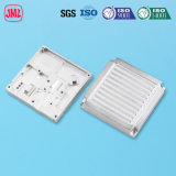 Lampe LED moulage sous pression en alliage aluminium avec polissage du dissipateur de chaleur/traitement de surface de pulvérisation de poudre