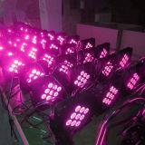 batteria di 9PCS 5in1 & PARITÀ piana del LED senza fili