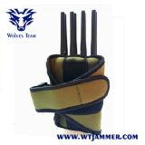 手持ち型の8つのバンド携帯電話のWiFi Lojack GPSのシグナルの妨害機(ナイロンケースと)