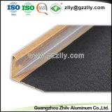 Material de construcción de moda H tira de aluminio en forma de techo