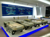 Camas de masaje de Jade equipos para la parte superior del cuerpo masajeador