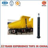 Cilindro hidráulico de vários estágios de caminhão de descarga da parte frontal com alta qualidade