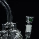 創造的な形のガラス配水管の水ぎせる