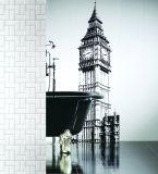 Wand-Untergrundbahn-/Metro-Fliese-Badezimmer-/Küche-Dekoration des Weiß-3X6inch/7.5X15cm Schrägfläche glasig-glänzende keramische