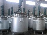 Tanque da reação da chaleira da reação química do reator do aço inoxidável