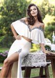Vestido de noche nupcial de la alineada de boda de la venta de la sirena cristalina caliente de la manera