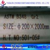 Precsion ASTM B348 Gr2 Barra redonda de titanio en titanio Proveedores