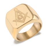 Мода аксессуары подарок логотип из нержавеющей стали имя кольцо Ювелирные изделия