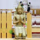 De leverende Artikelen sieren Huis van Boedha van Ambachten de het Gouden en Decoratie van de Tuin
