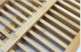 Crémaillère d'assiette compressible en bambou