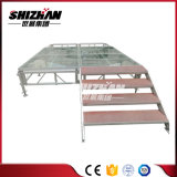 Fächerförmiges Toughend Glasstadiums-Sektor-Stadiums-faltendes Aluminiumstadium