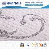 Tissus 100% de matelas de polyester de couleur de Gery