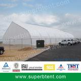 معرض خيمة مع ألومنيوم بنية