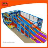 Игровая площадка на открытом воздухе в помещении пластмассовых материалов горячая продажа детей слайды небольшой зазор оборудования