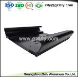 Espulsione di alluminio intagliata personalizzata per l'audio dissipatore di calore automatico