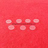 Effacer les disques de verre de quartz réchauffeurs 44.5mmx15mm