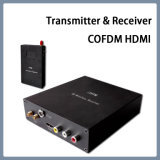 Émetteur et récepteur visuels mobiles sans fil de Cofdm HDMI