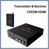 Mini HDMI Cofdm portátil sem fio transmissor e receptor de vídeo