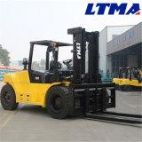 Ltma 포크리프트 무거운 Mechine 10t 디젤 엔진 포크리프트 가격