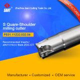 Indexierbare quadratische Schulter-Prägescherblock für CNC-Drehbank-Werkzeugmaschine