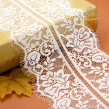 卸し売り織物花嫁のための100%年のポリエステルファブリックによって刺繍されるレース