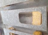 Луну белого гранита мойки Кухонные мойки рабочую поверхность верхней панели