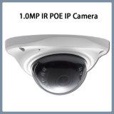 videocamera di sicurezza del CCTV della cupola della rete del IP di 1.0MP Poe IR mini