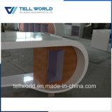 Tabela de Gerenciador de pedra artificial moderno mobiliário de escritório Secretária Executiva