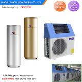 5kw 7kw 9 kw d'air pour système de chauffage solaire de fractionnement de l'eau