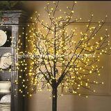 屋外の装飾のための動力を与えられたLEDの妖精の休日ライト