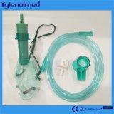 Регулируемый кислородный изолирующий противогаз с трубопроводом для медицинской пользы