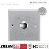 Acero inoxidable Sistema de Control de acceso a la puerta de pulsar el botón disparador