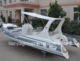 China 3,3M-8.3m Sport bote inflable rígido Rib costillas barco