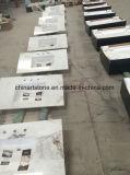 中国の米国のための標準的で白い大理石の台所カウンタートップによっては装飾が家へ帰る