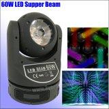Magic DOT 4в1 RGBW 60Вт Светодиодные перемещение Колошения лампа