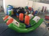 Il gioco gonfiabile dell'acqua gioca il movimento alternato gonfiabile dell'acqua per divertimento