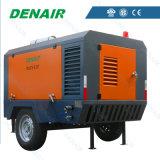 Shanghai-Fabrik0.8 MPa-bewegliche Schrauben-Luftverdichter-Dieselserie
