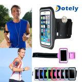 Cassa corrente di riciclaggio pareggiante del supporto del braccio del coperchio del bracciale di ginnastica di sport per il telefono delle cellule