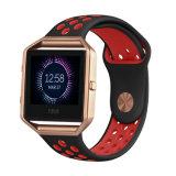 Планка вахты спортов с рамкой золота Rose для Blaze Fitbit