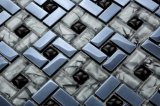 330X330mm Glitter Crystal Glass Mosaic Tile in Foshan (AJFG11)